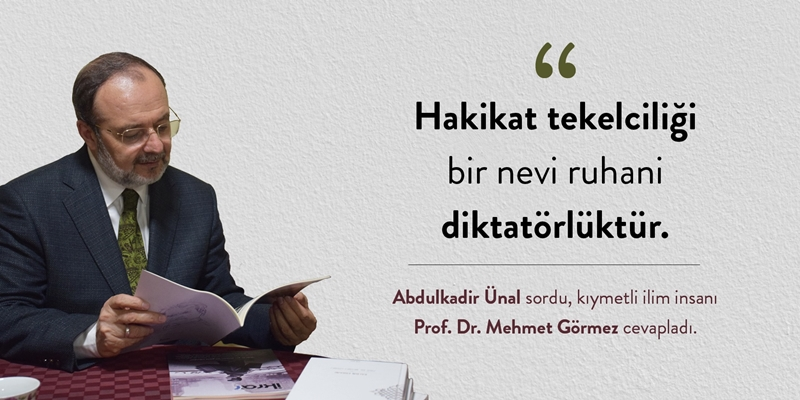 Mehmet Görmez ile Röportaj